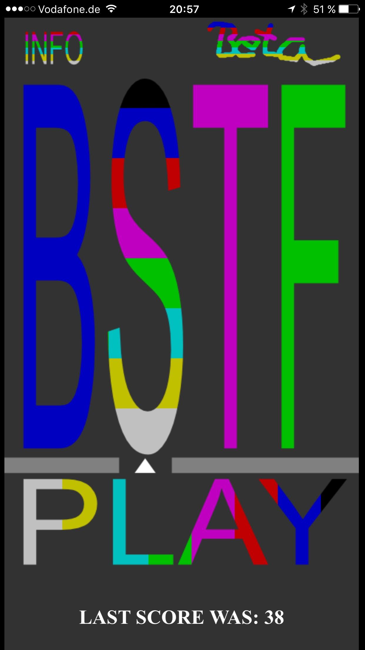 bstf game homebildschirm